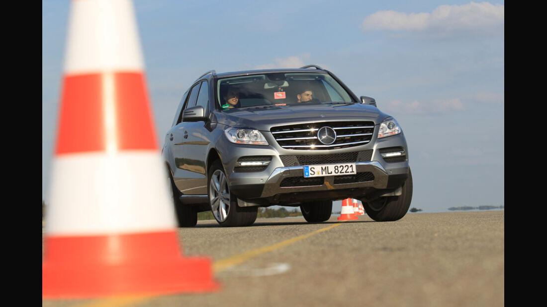 Mercedes ML 250 Bluetec 4-matic, Bremstest