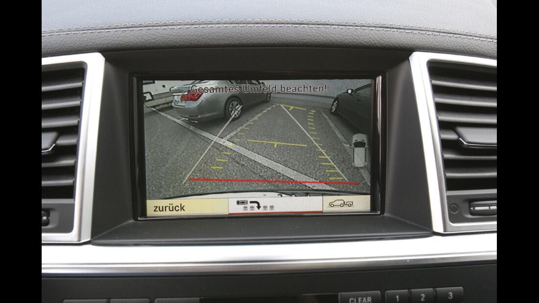 Mercedes ML 250 Bluetec 4-matic, Display