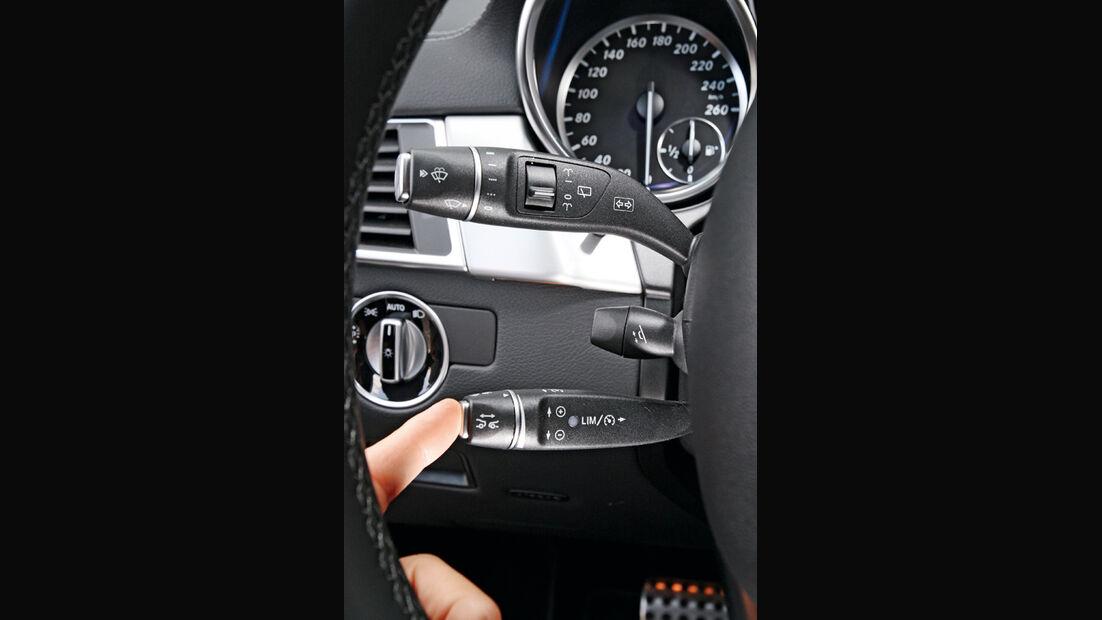 Mercedes ML 250 Bluetec 4-matic, Hebel