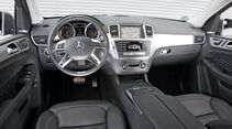 Mercedes ML 250 Bluetec 4-matic, Innenraum