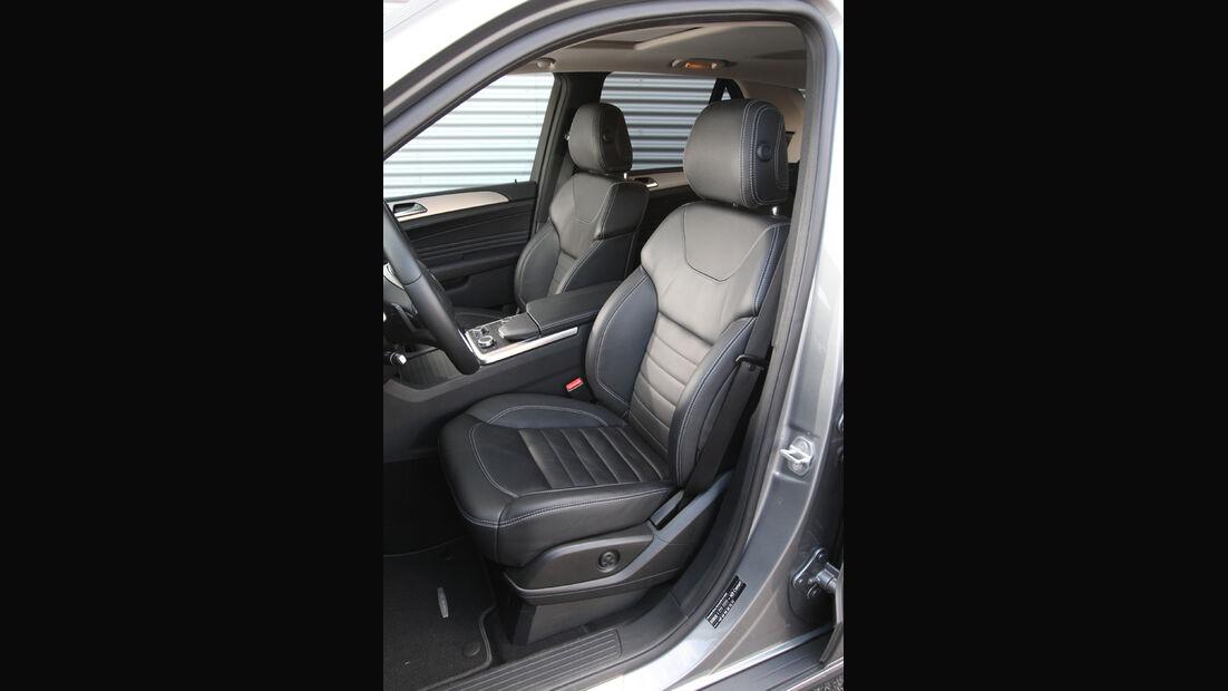 Mercedes ML 250 Bluetec 4-matic, Sitze