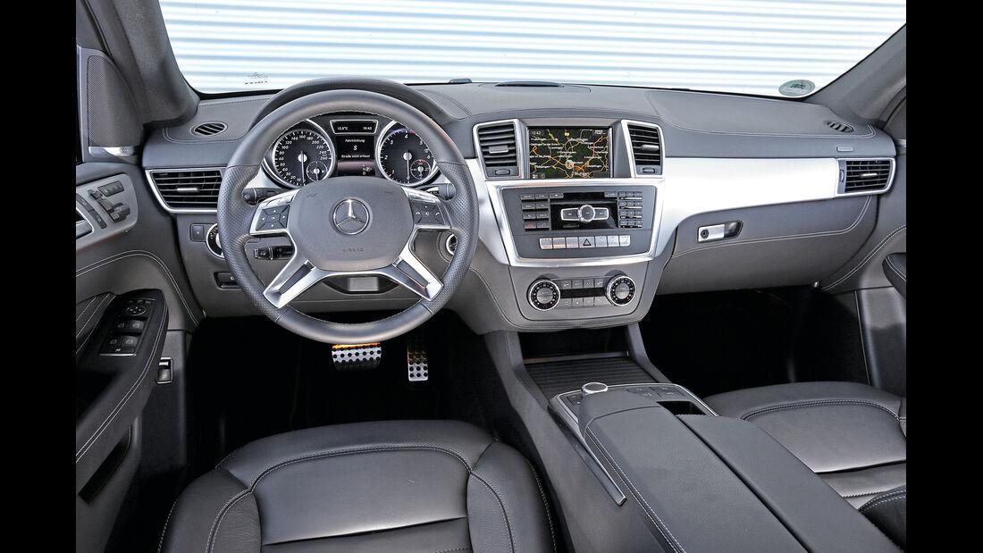 Mercedes ML 250 Bluetec 4Matic, Cockpit