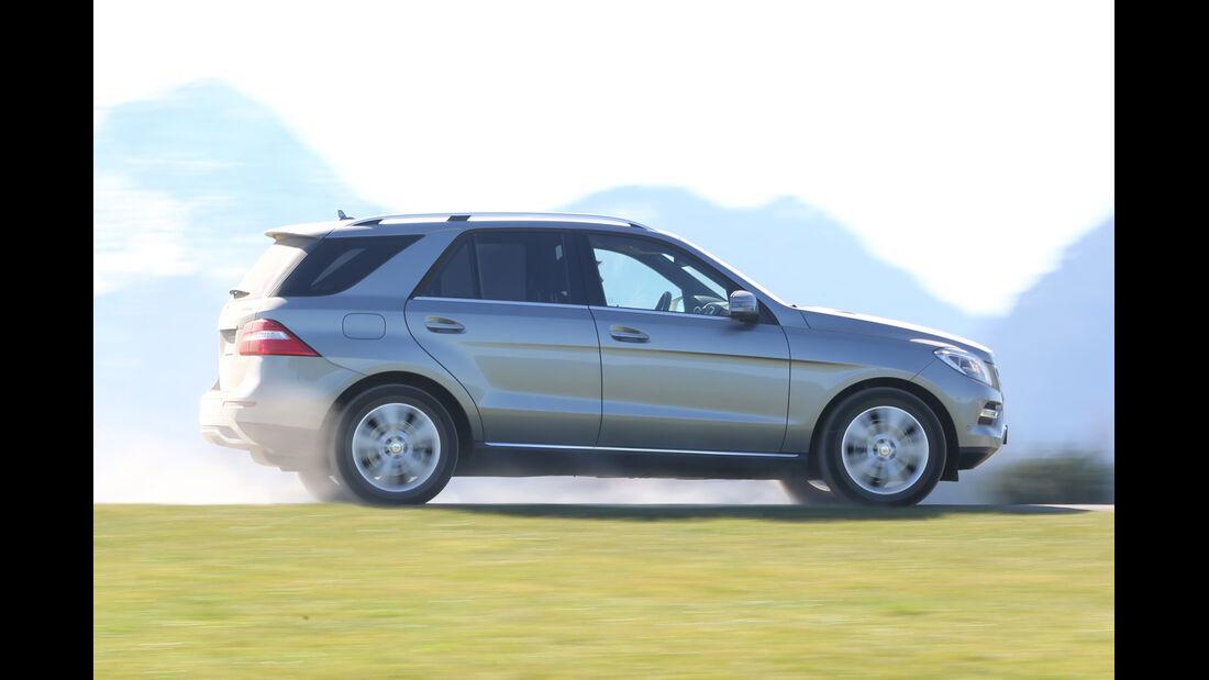 Mercedes ML 250 Bluetec 4Matic, Seitenansicht