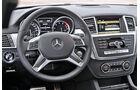 Mercedes ML 250 Bluetec, Cockpit