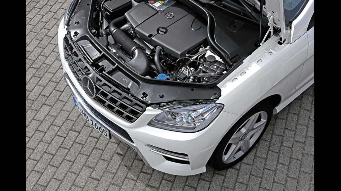 Mercedes ML 250 Bluetec, Motor