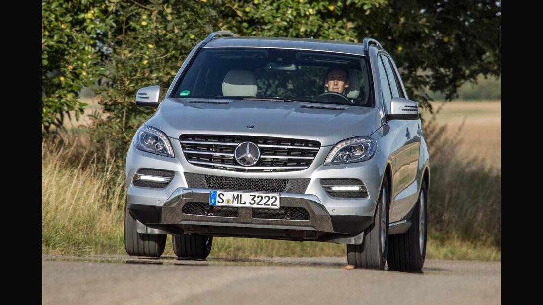 Mercedes ML 250, Frontansicht