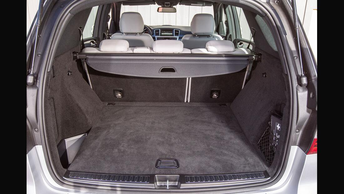 Mercedes ML 250, Kofferraum, Ladefläche