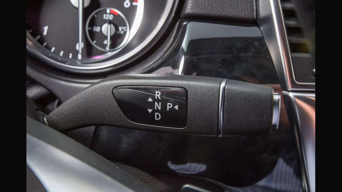 Mercedes ML 250, Lenkradhebel