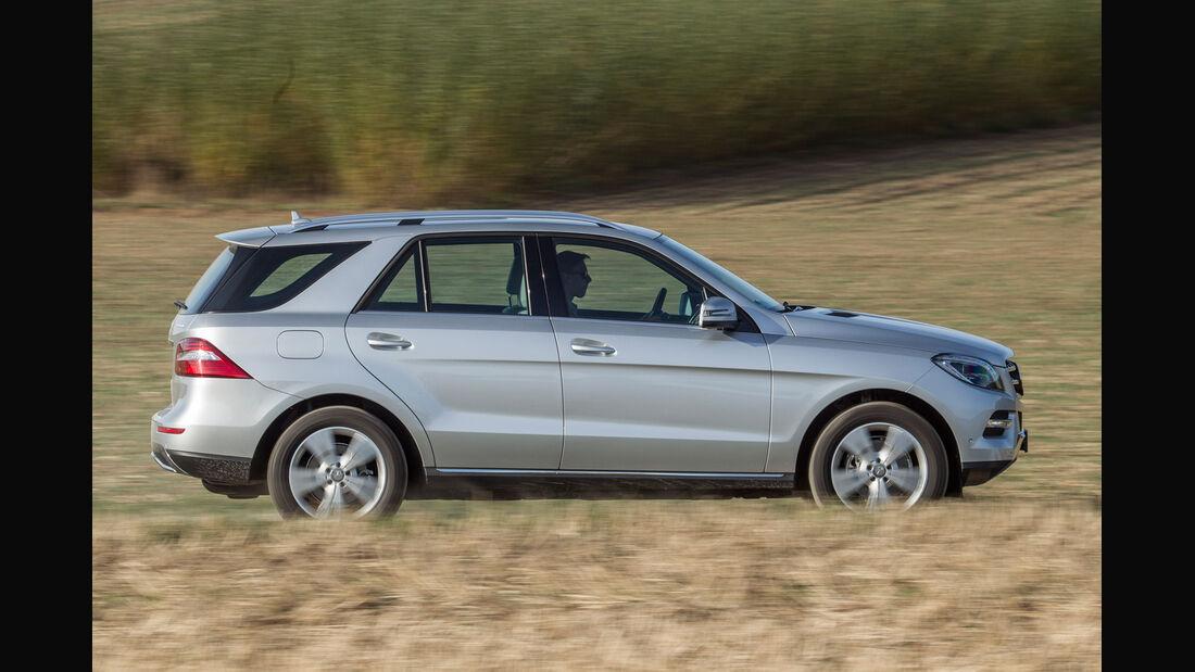Mercedes ML 250, Seitenansicht