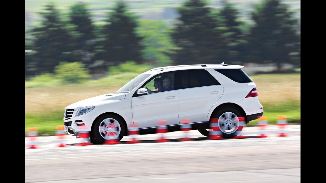 Mercedes ML 350 Bluetec, Bremstest