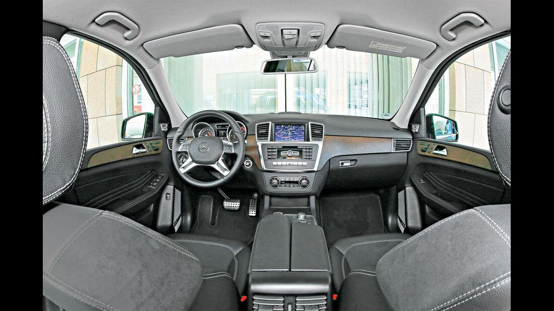 Mercedes ML 350 Bluetec, Cockpit