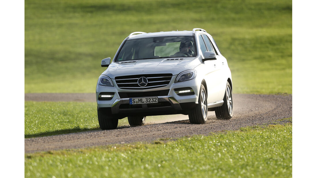 Mercedes ML 350 Bluetec, Frontansicht