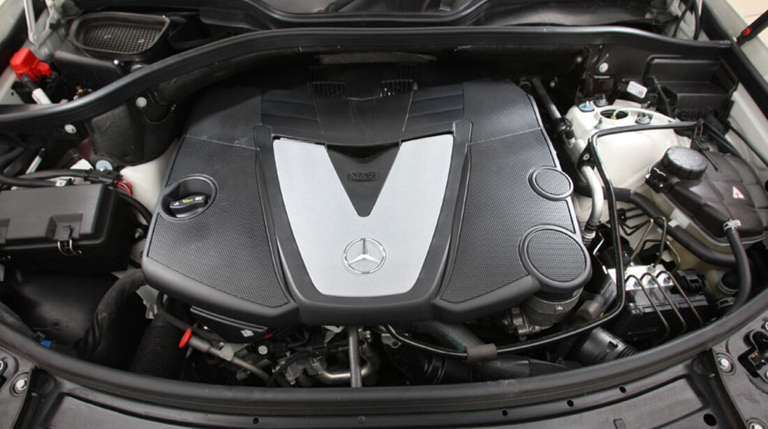 Mercedes ML 350 Bluetec, Motor