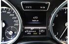 Mercedes ML 350 Bluetec, Rundinstrumente, Anzeige