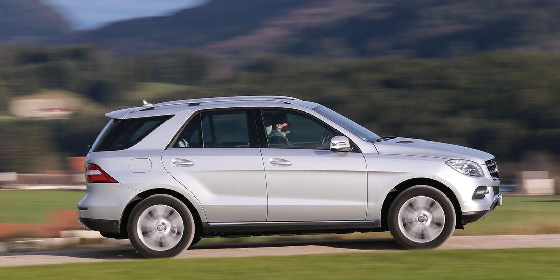 Mercedes ML 350 Bluetec, Seitenansicht