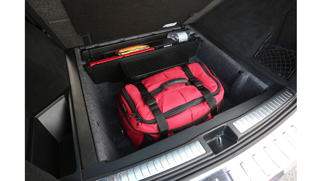 Mercedes ML 350 Bluetec, Stauraum