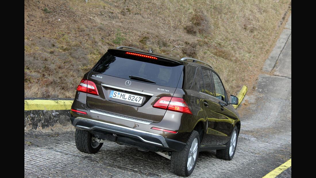 Mercedes ML 350 CDI Bluetec Supertest / Test 4wf