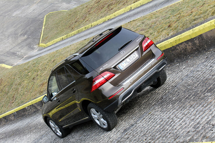 Mercedes ML 350 CDI Bluetec Supertest / Test 4wf