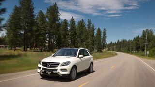 Mercedes ML 350, Front, Frontansicht