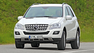 Mercedes ML 350, Frontansicht