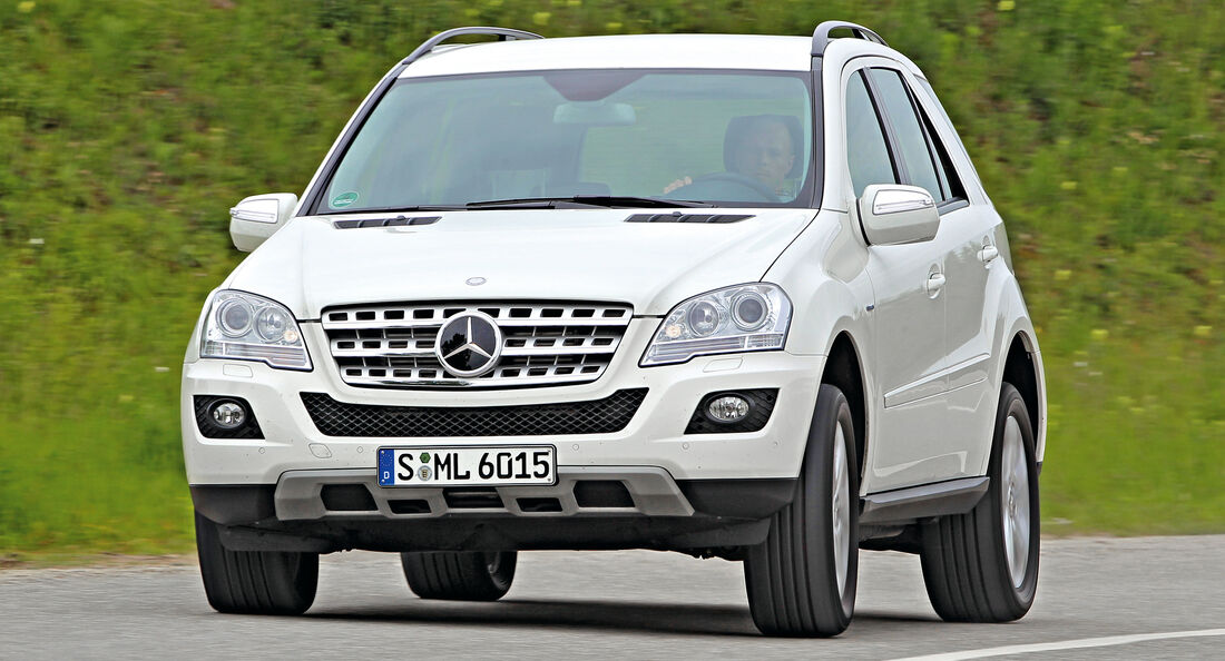 Mercedes ML 350, Frontansicht