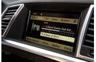 Mercedes ML 350, Navi, Bildschirm