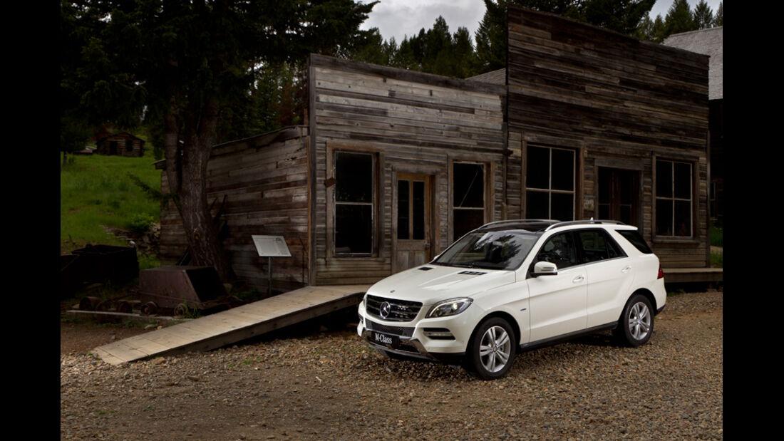 Mercedes ML 350, Seitenansicht