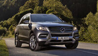 Mercedes ML 500 4Matic Blue Efficiency