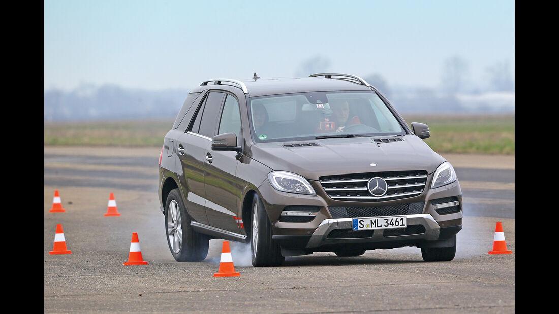Mercedes ML 500, Bremstest