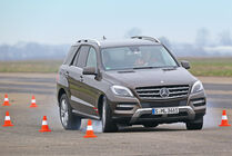 Mercedes ML 500, Bremstest