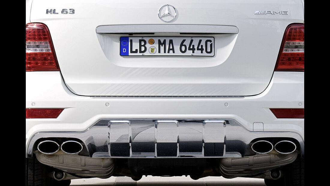 Mercedes ML 63 AMG Auspuff