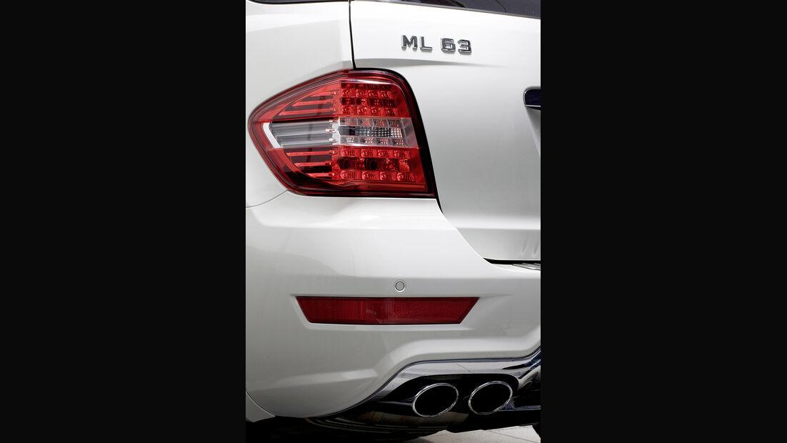 Mercedes ML 63 AMG Detail