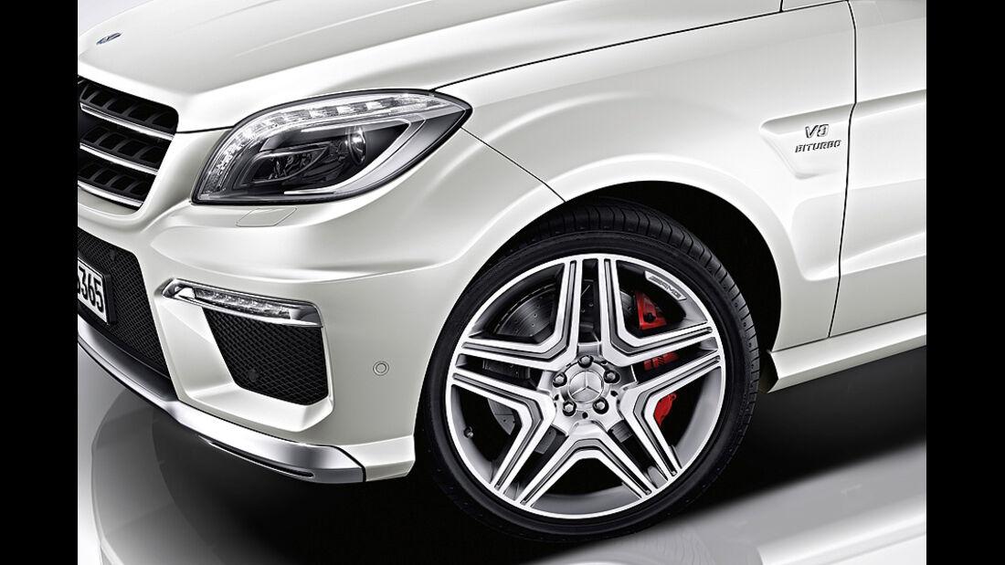 Mercedes ML 63 AMG, Felge, Rad