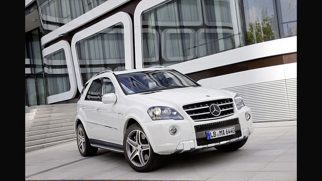 Mercedes ML 63 AMG Front