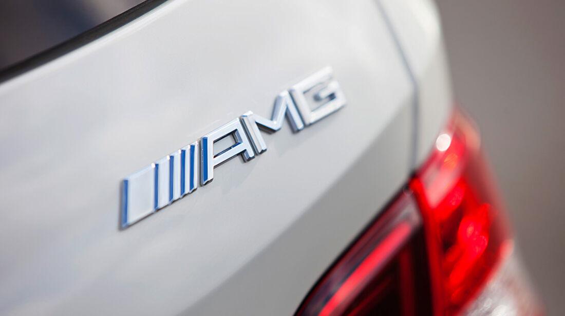 Mercedes ML 63 AMG, Heck, Typbezeichnung