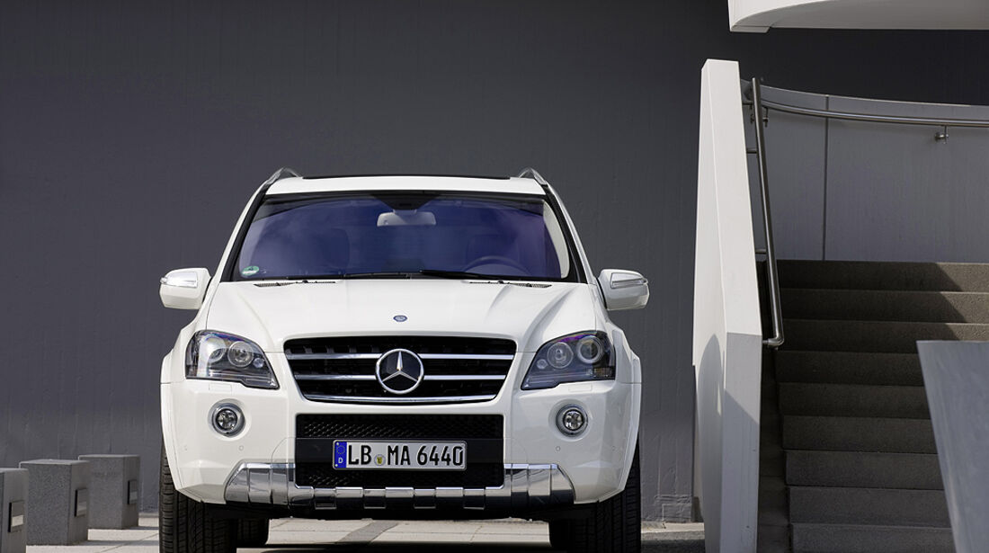 Mercedes ML 63 AMG Heckansicht