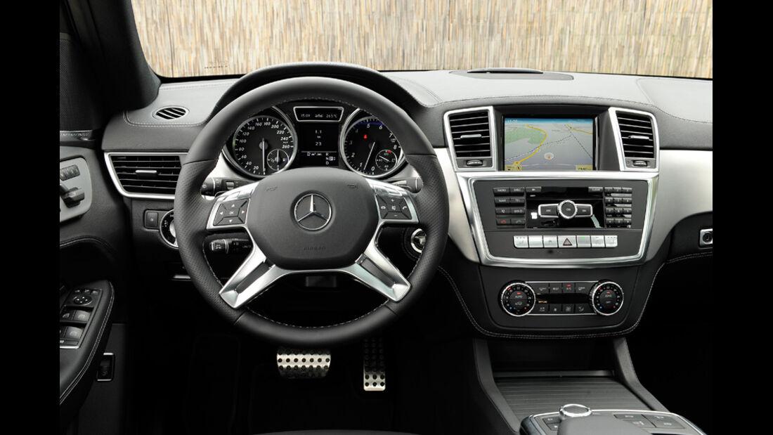 Mercedes ML, Cockpit
