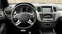 Mercedes ML, Cockpit