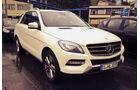 Mercedes ML Dauertest 2013