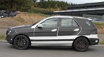 Mercedes ML Erlkönig