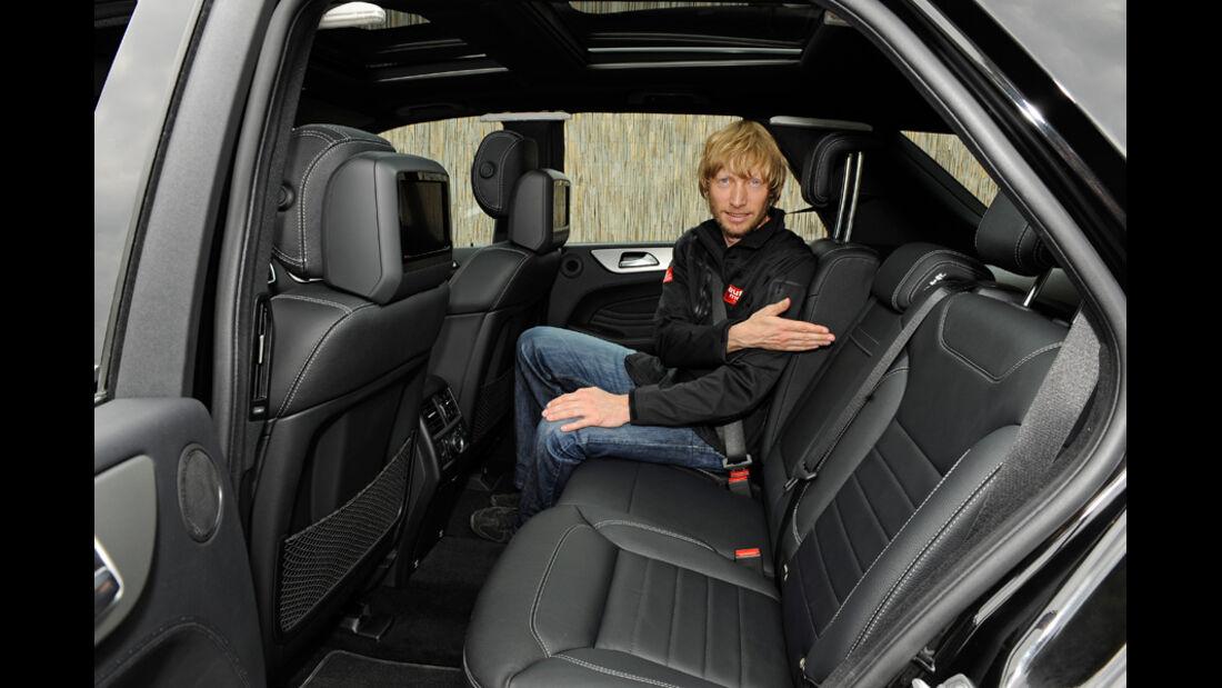 Mercedes ML, Fond