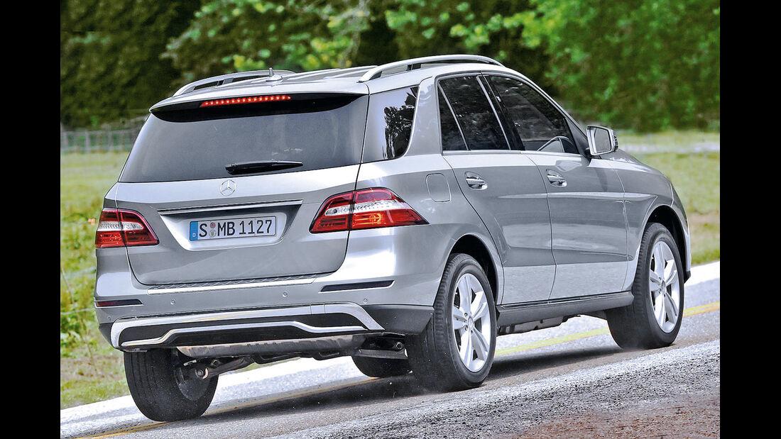 Mercedes ML, Heckansicht