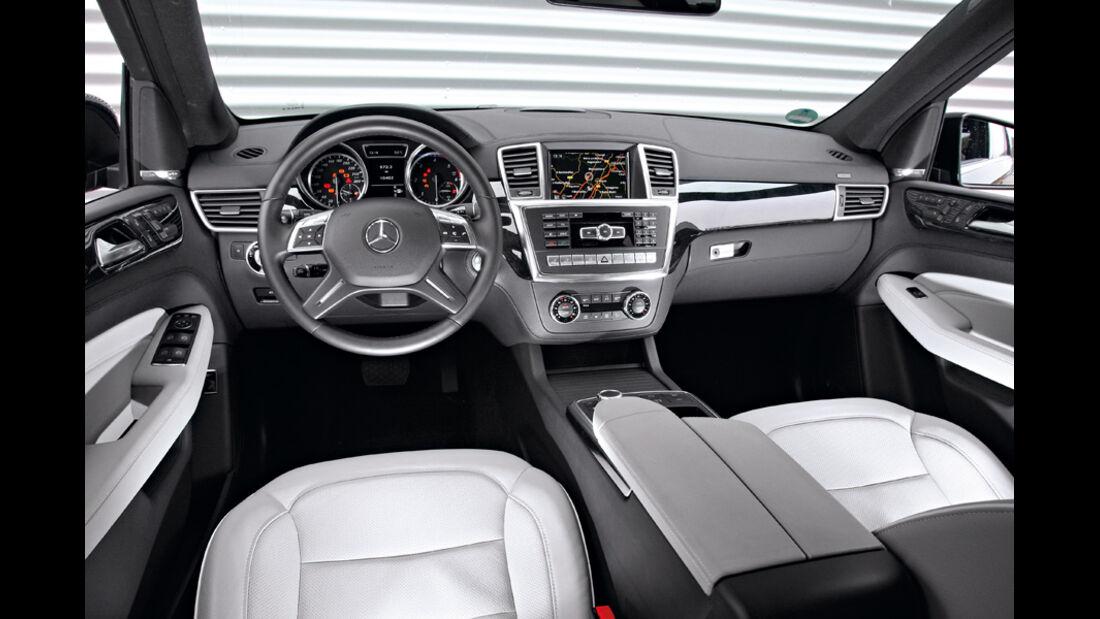 Mercedes ML, Innenraum
