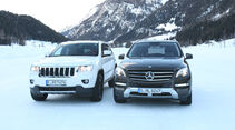 Mercedes ML, Jeep Grand Cherokee