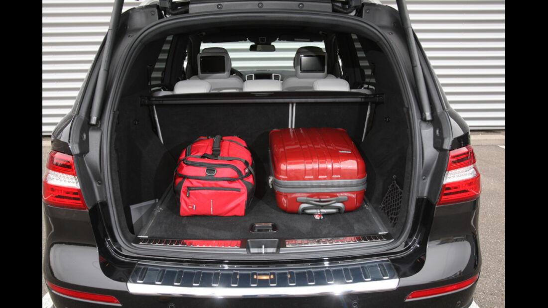Mercedes ML, Kofferraum