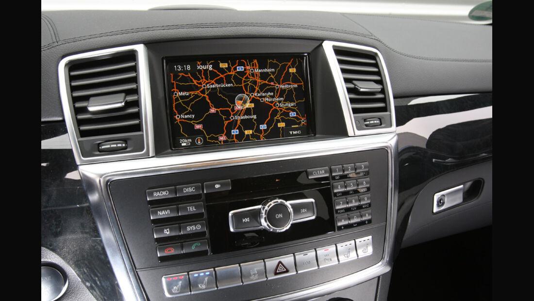 Mercedes ML, Multimediasystem