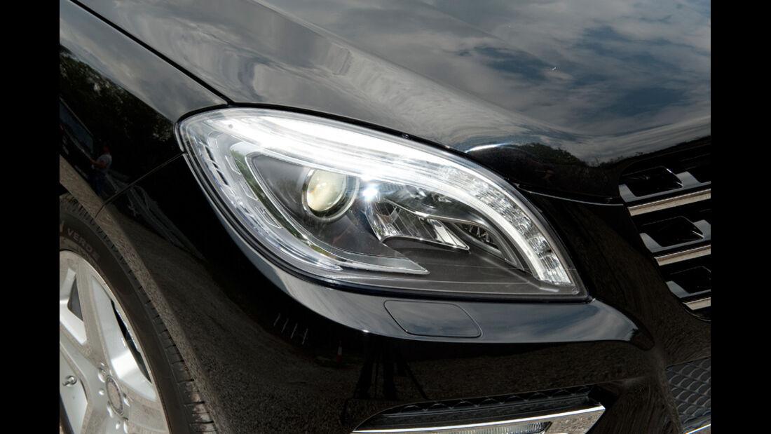 Mercedes ML, Scheinwerfer