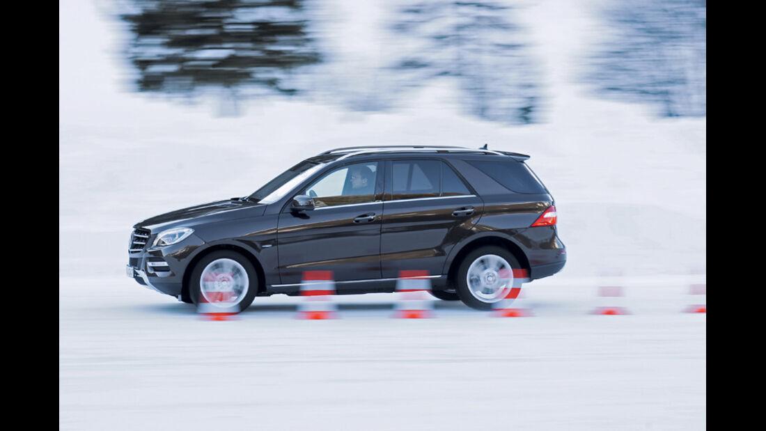 Mercedes ML, Seitenansicht