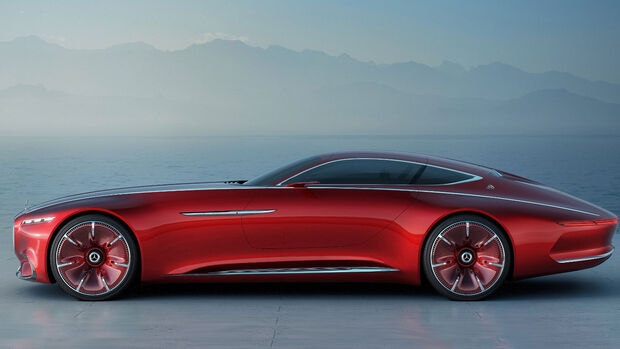 Mercedes Maybach Coupé Studie Pebble Beach 2016