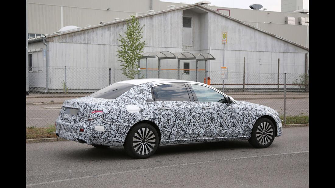 Mercedes-Maybach E-Klasse Erlkönig, Seite